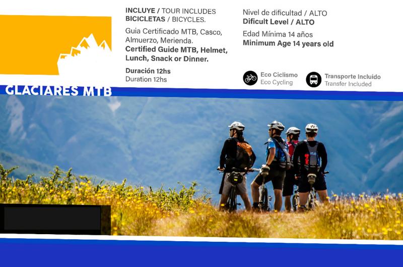 Gletscher, MTB und Naturschutz